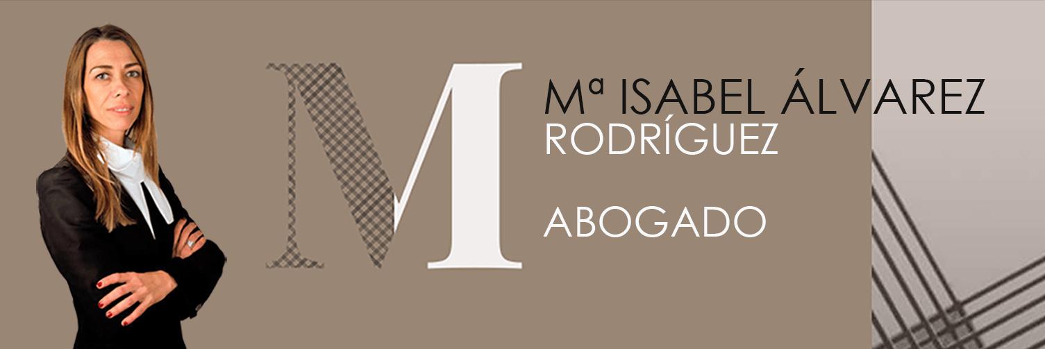 María Isabel Álvarez Rodríguez Abogado